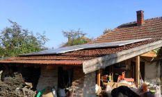 4kW napelem családi házon