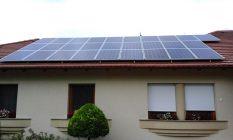 8kW napelem egy szarvasi családiházon